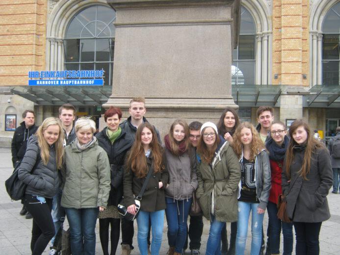 Wymiana szkolna Gymnasium w Langenhagen.